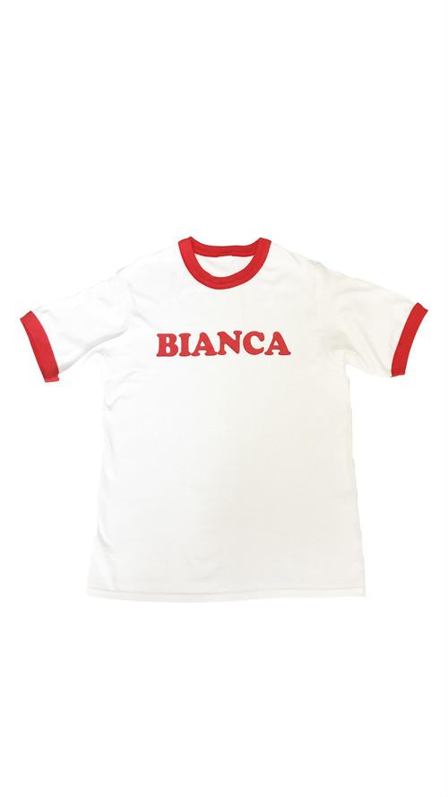 BIANCA RINGER T-SHIRT RED