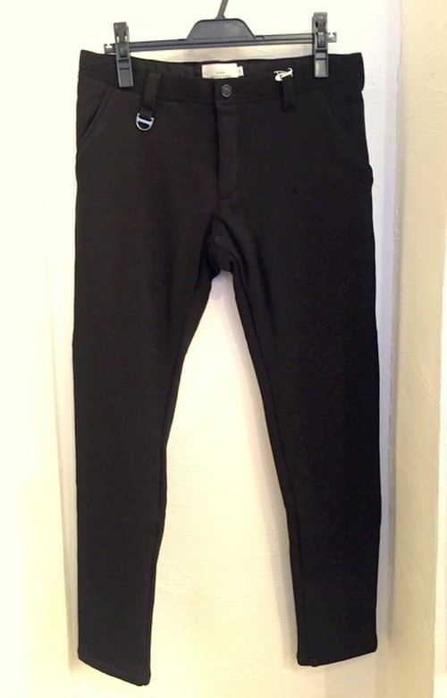 Fleece Tapered Pants Black