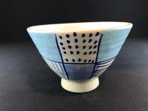 青 ICHIMATU 茶碗(大)