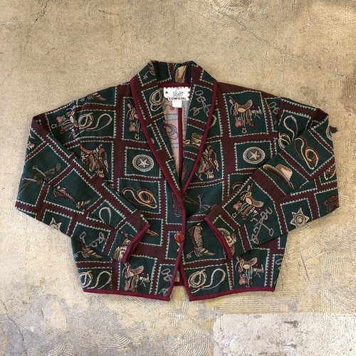 Crazy Cowgirl Jacket ¥8,400+tax