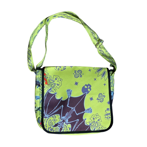 VIRUS WORLD  Virus Paisley Bag LIME