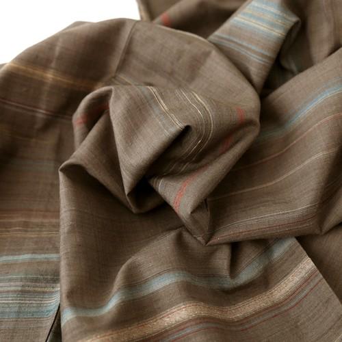1899 単衣◆小さいサイズ◆草木染三才山紬