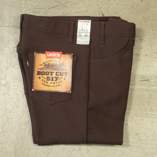 """""""DEADSTOCK"""" 90's Levi's BOOT CUT 517 TEX TWILL"""