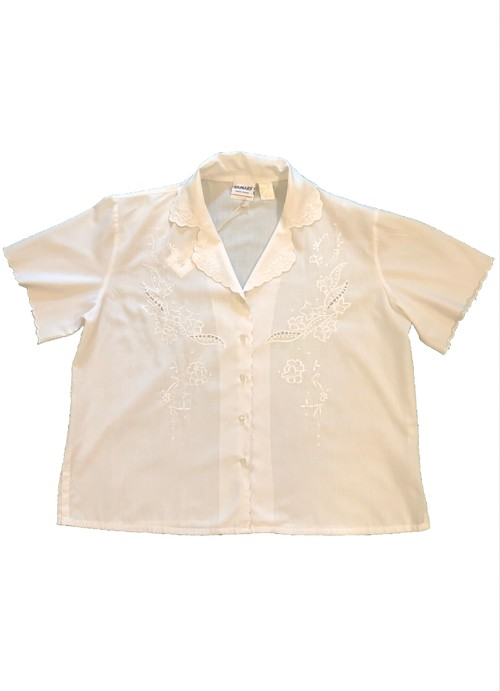 Euro Vintage White shirt 半袖 BL19