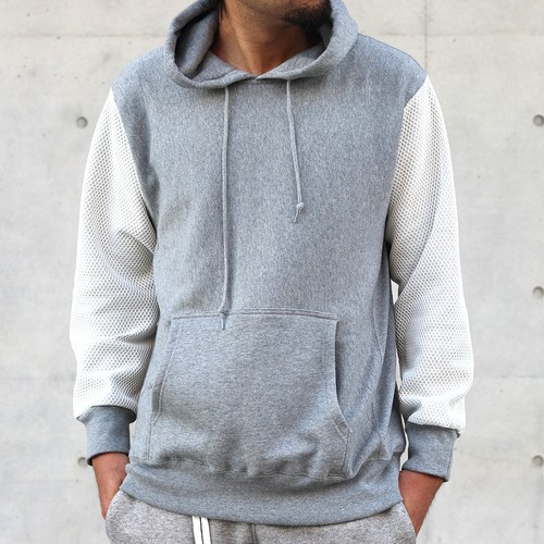 MESH(WH)-SL-HOODIE(GY)