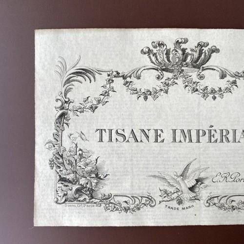 France アンティークラベル(TISANE ) /  vp0117