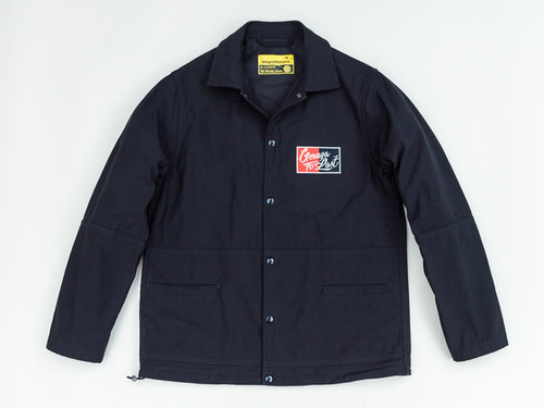COACH JACKET -PLAIN- (BLACK) / GERUGA