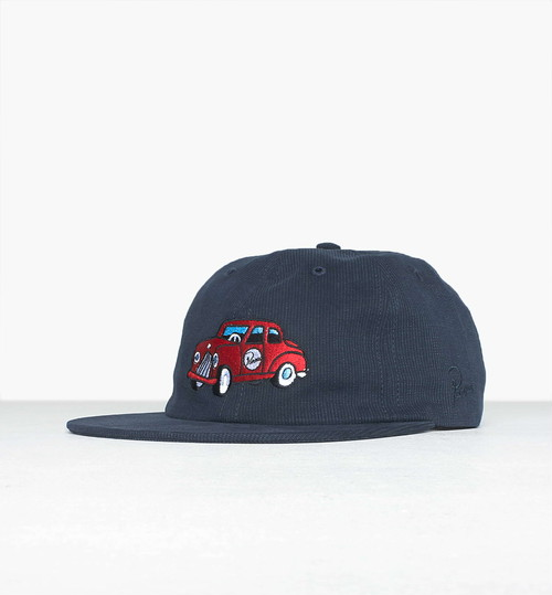 by Parra - toy car 6 panel hat (Navy Blue)