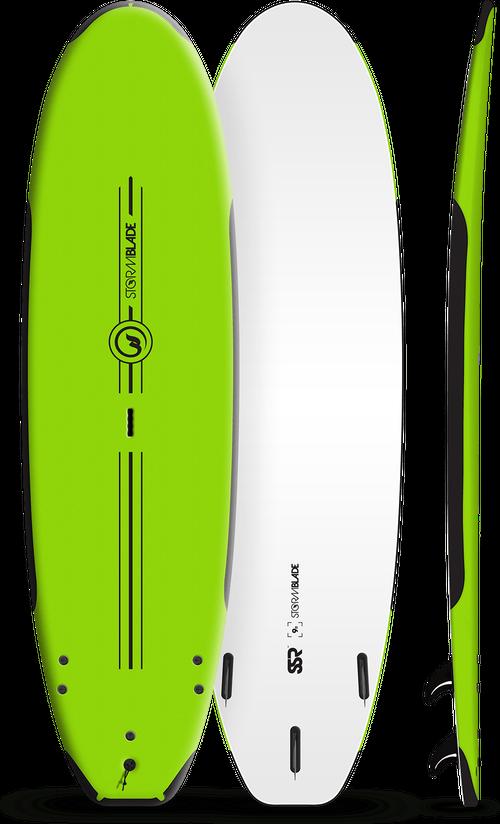 Storm Blade 9ft SSR Surfboard / Apple Green