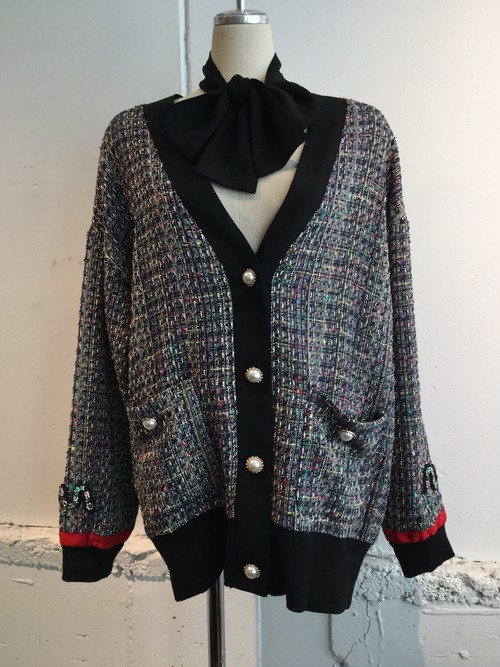 Sister Jane Tweed Cardigan