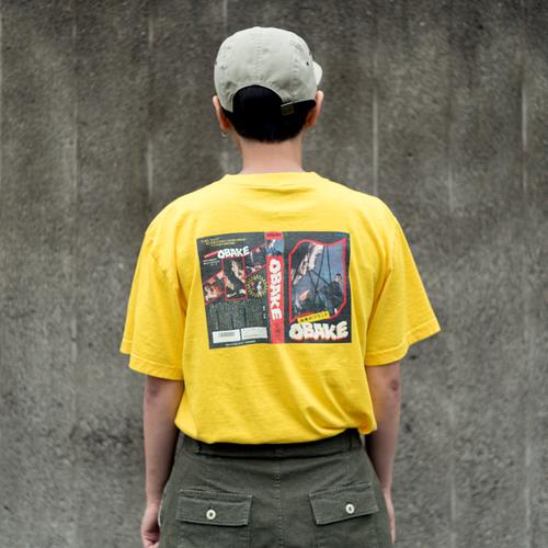 おばけのビデオテープTシャツ