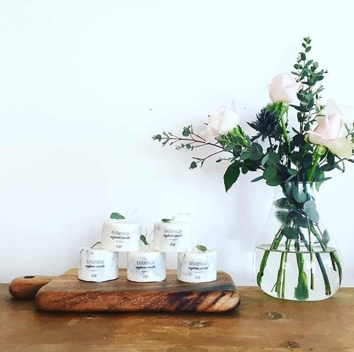 botanical soy beens candle