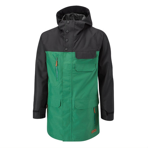 Branwood Jacket	Hunter Green/Black