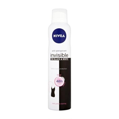 ニベア デオドラント スプレー インヴィジブル・クリア / NIVEA Deodorant SPRAY Invisible Back & White Clear 150ml