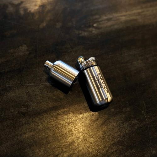 "【MARATAC】Stainless Peanut Lighter ""L"""