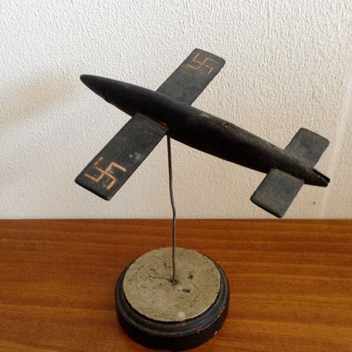 Antique German WWII Model DOODLEBUG/V-1 FLYING BOMB