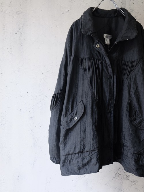 nylon solid jacket