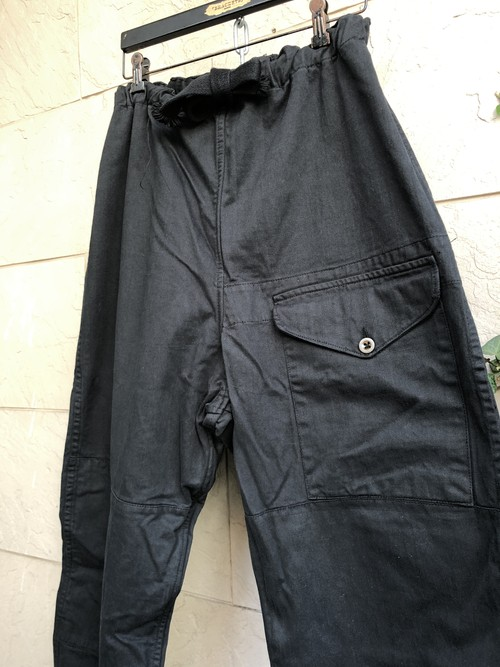 1940s British military SAS over trousers overdyed black color 2