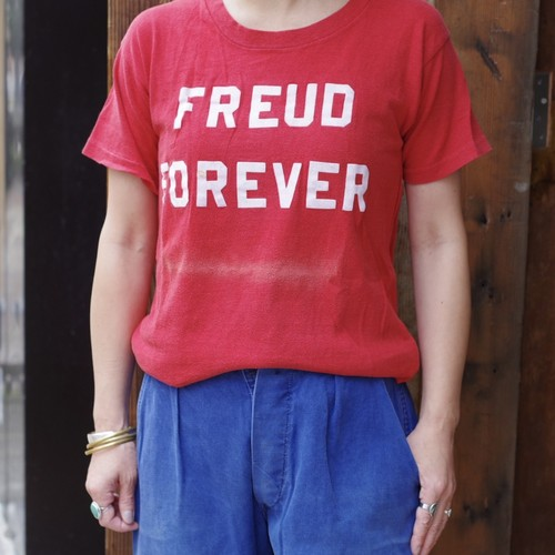 SPRUCE Frock Print Tee / フロッキー プリント T-shirt