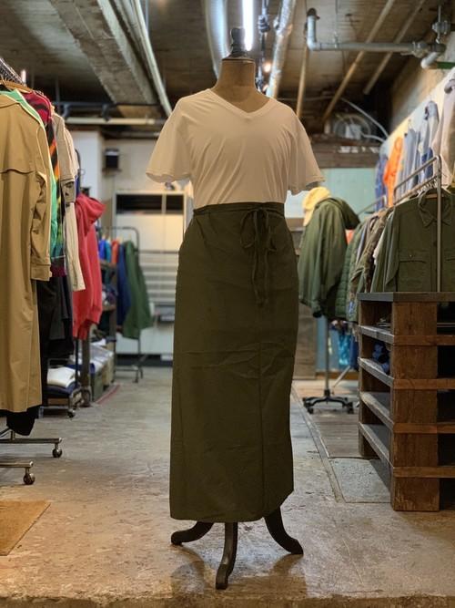 Dutch army cotton apron deadstock