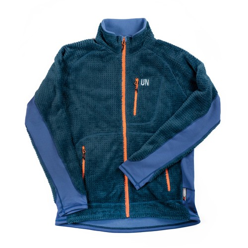 UN3400 High Loft fleece jacket / Blue
