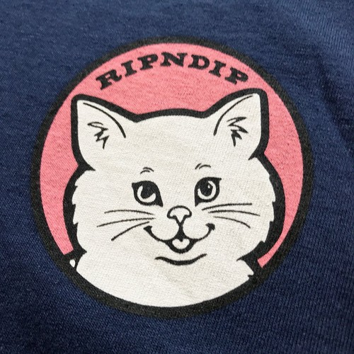 RIPNDIP / STOP BEING A PUSSY LONG SLEEVE T-Shirt