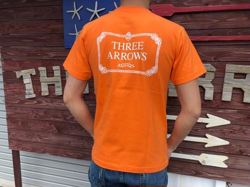【4/17 21:00販売開始】CLASSIC LOG Tシャツ(orange)