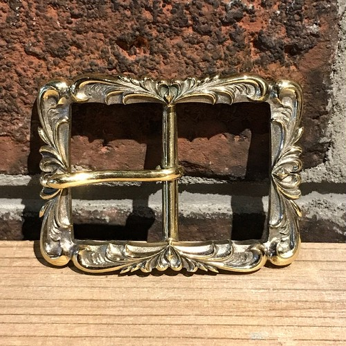 arabesque 30mm BRASS BUCKLE