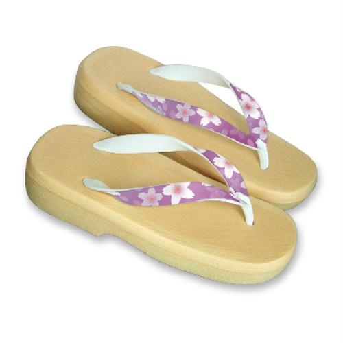 """GETA Sandals """"NADESHIKO"""" Lady's Beige"""