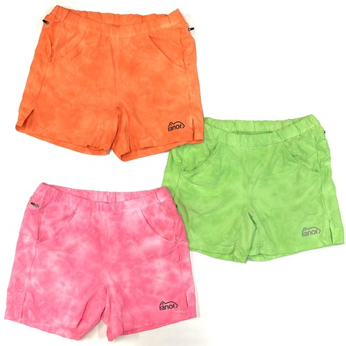 ranor / NEON TIE DYEING MIDDLE SHORTS (817-1-222)