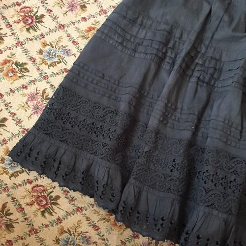 Victorian のアンティークCotton petitcoat