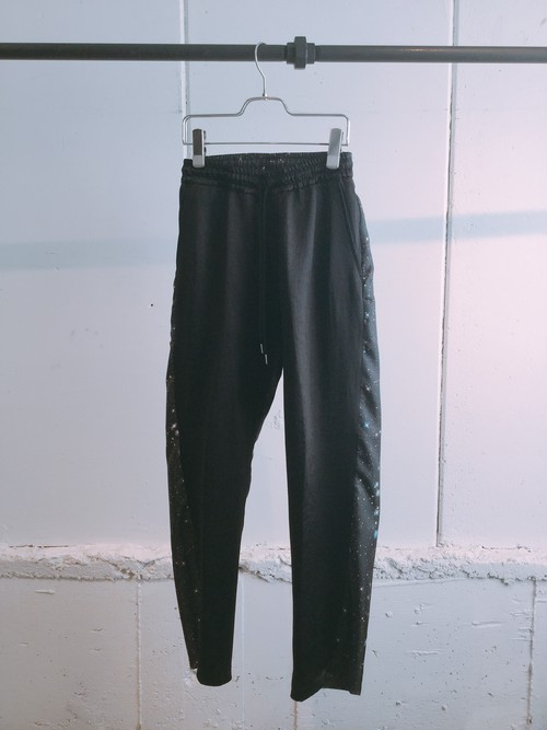 NEONSIGN    Acetate Milky Satin Pants