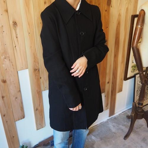 Y's black half coat