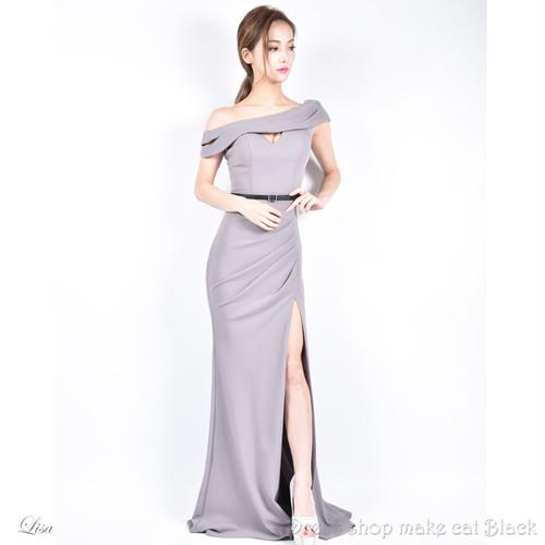 (9号) 3色展開 ロングドレス パーティー ドレス  イルマ  IRMA JEAN MACLEAN ジャンマクレーン 85143