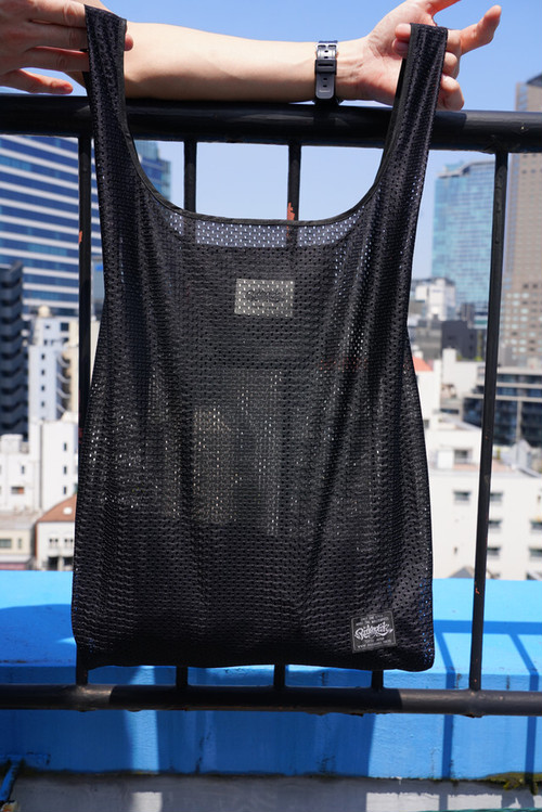 [予約商品]RAKUGAKI Mesh SHOPPING BAG Black