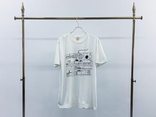 【sankara×nishikubo sayuri】BUD organic T-shirt