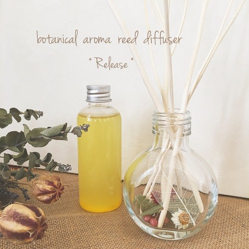 《Release 》BOTANICAL AROMA REED DIFFUSER