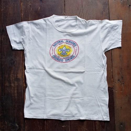 1960s Vintage BSA Print T-Shirt / National Jamboree #1