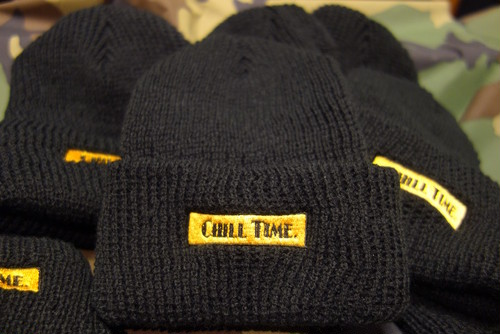 CHILL TIME KNIT CAP T-2