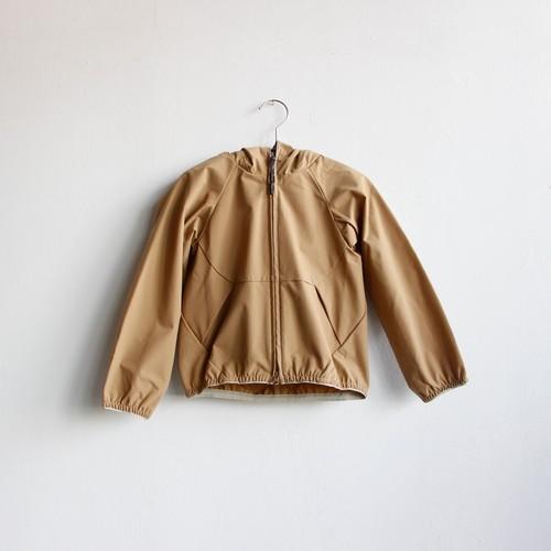《MOUNTEN. 2020SS》ripstretch hoodie / beige