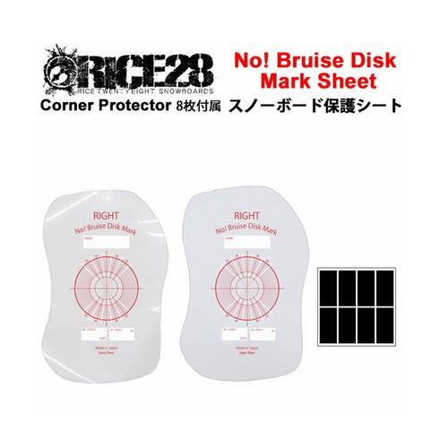RICE28 ライス28 No! Bruise Disk Mark Sticker 保護シート