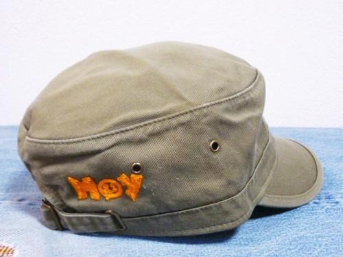 """""""HOY"""" Organic Cotton Twill Corps Hat (ホイ オーガニック コットン ツイル コープハット)"""