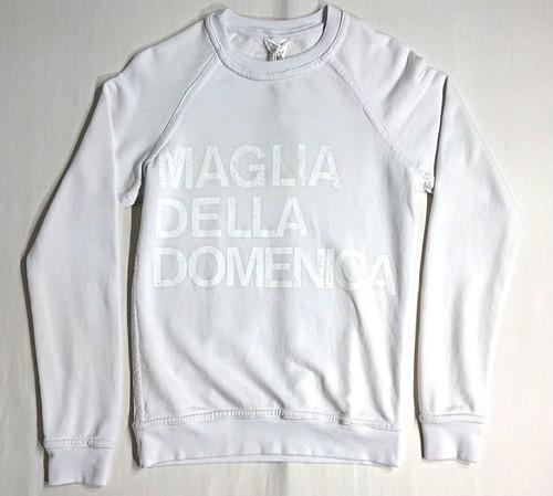 MAGLIA(マリア) スウェット DOMENICA ホワイト