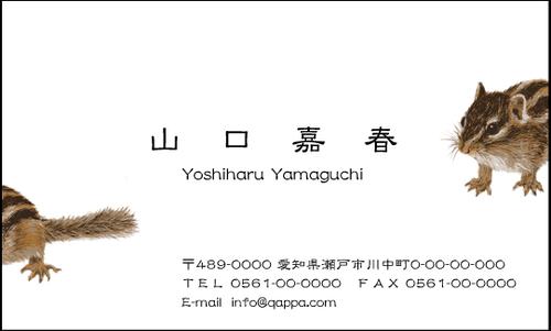 イラスト入り名刺5030 (100枚)