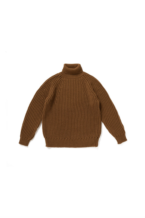 WRYHT - FELT YARN TURTLE SWEATER