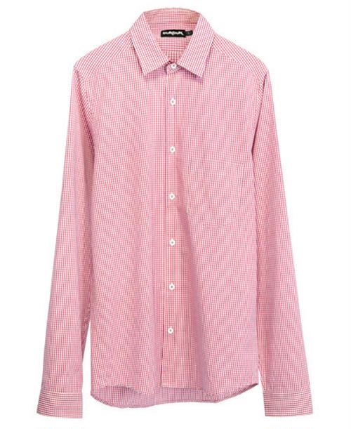 TukTuk/トゥクトゥク - ギンガムチェックシャツ (チリ・レッド)