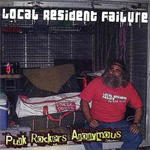 local resident failure / punk rockers anonymous cd