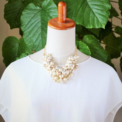 ~艶~3way necklace(Cream)