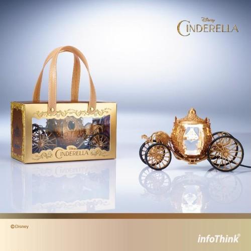 InfoThink ルームライト Disney シンデレラ  USB給電 リモコン付属 かぼちゃの馬車モデル LIGHT-100 (Cinderella)