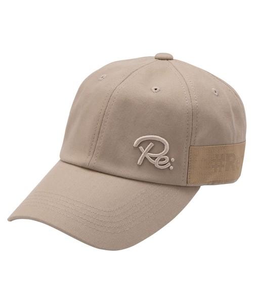 TAPE LOGO TWILL CAP[REH111]